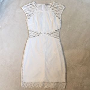 🆕 Charlotte Russe White Lace Dress